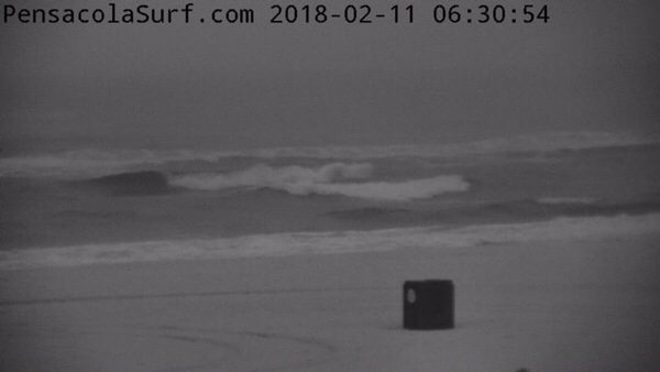 Stormy Sunday Morning Beach and Surf Report 2/11/18