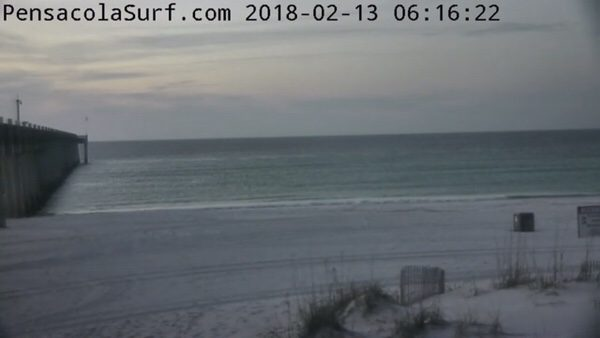 Tuesday Morning Beach and Surf Report 2/13/18