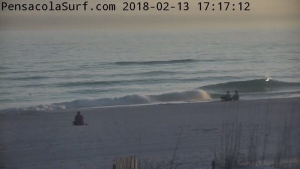 Tuesday Evening Beach and Surf Report 2/13/18