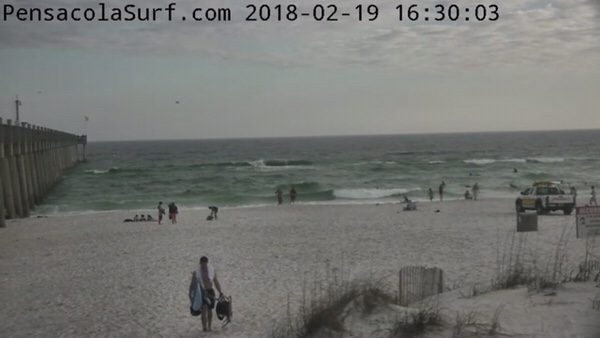 Monday Evening Beach and Surf Report 2/19/18