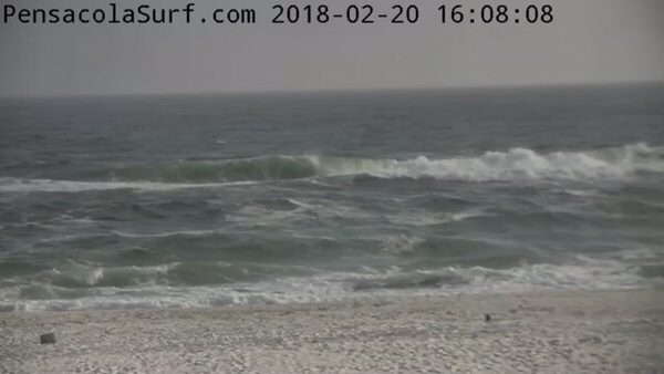 Tuesday Evening Beach and Surf Report 2/20/18