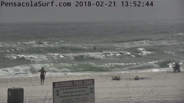Wednesday Afternoon Beach and Surf Report 2/21/18