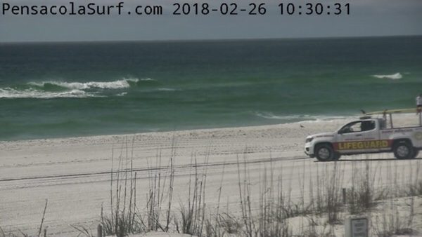 Monday Mid-day Beach and Surf Report 2/26/18