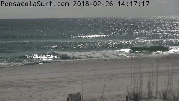 Monday Afternoon Beach and Surf Report 2/26/18