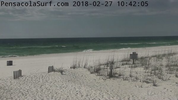 Tuesday Mid-day Beach and Surf Report 2/27/18
