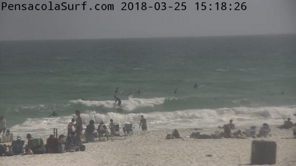 Sunday Afternoon Beach and Surf Report 3/25/18