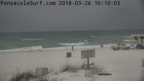 Monday Afterwork Beach and Surf Report 3/26/18