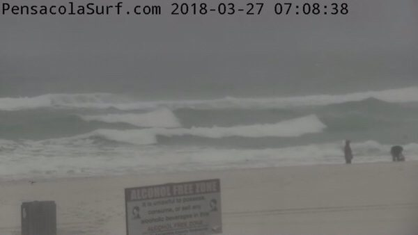 Tuesday Morning Beach and Surf Report 3/27/18