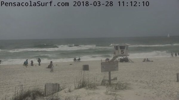 Wednesday Noon Beach and Surf Report 3/28/18