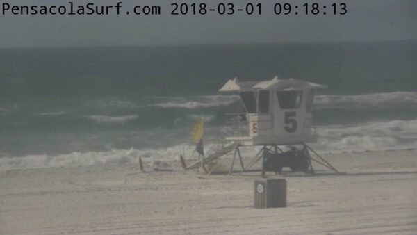 Thursday Mid-Morning Beach and Surf Report 3/1/18