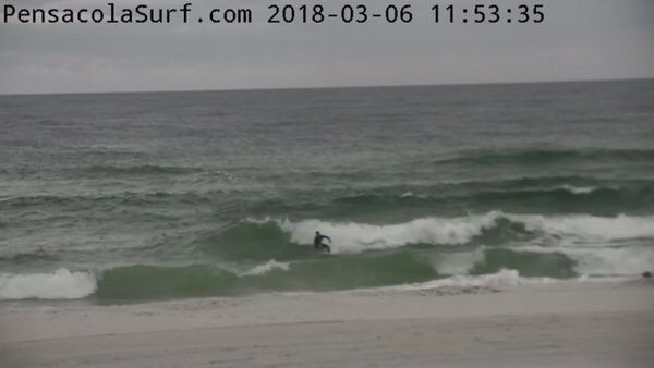 Tuesday Noon Beach and Surf Report 3/6/18