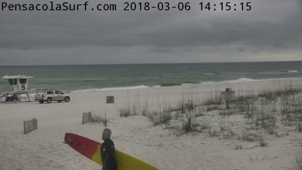 Tuesday Afternoon Beach and Surf Report 3/6/18