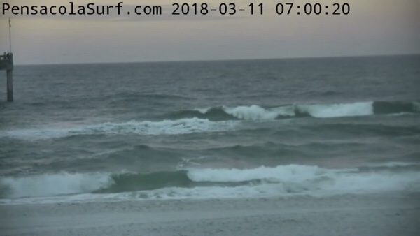 Sunday Morning Beach and Surf Report 3/11/18