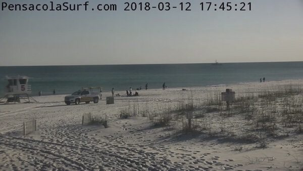 Monday Evening Beach and Surf Report 3/12/18
