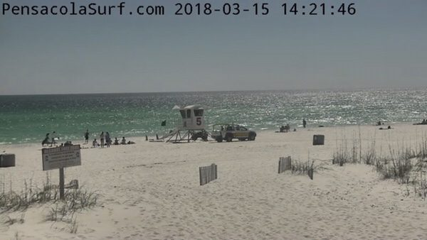 Thursday Afternoon Beach and Surf Report 3/15/18