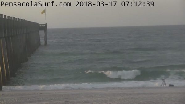 Saint Patrick's Day Saturday Morning Beach and Surf Report 3/17/18