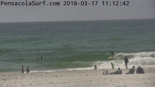 Saturday Mid-day Beach and Surf Report 3/17/18