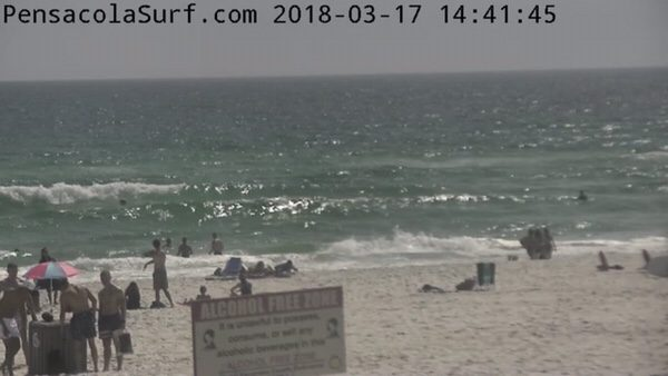 Saturday Afternoon Beach and Surf Report 3/17/18