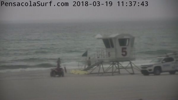 Monday Noon Beach and Surf Report 3/19/18