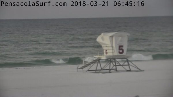 Wednesday Morning Beach and Surf Report 3/21/18
