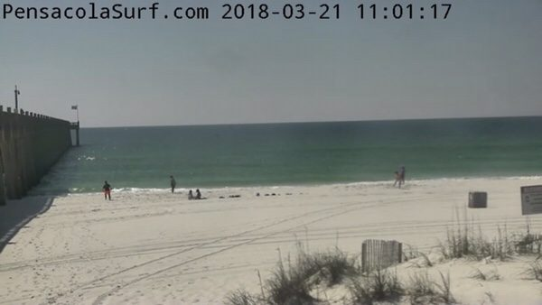 Wednesday Mid-day Beach And Surf Report 3/21/18