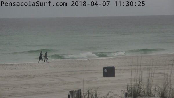 Saturday Mid-day Beach and Surf Report 4/7/18