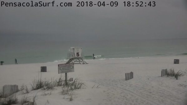 Monday Evening Beach and Surf Report 4/9/18
