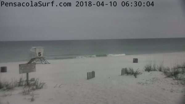 Tuesday Morning Beach and Surf Report 4/10/18
