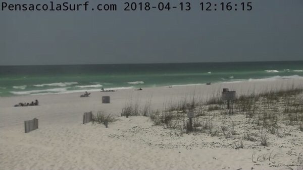 Friday Noon Beach and Surf Report 4/13/18