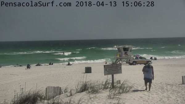 Friday Afternoon Beach and Surf Report 4/13/18