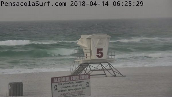 Saturday Morning Beach and Surf Report 4/14/18