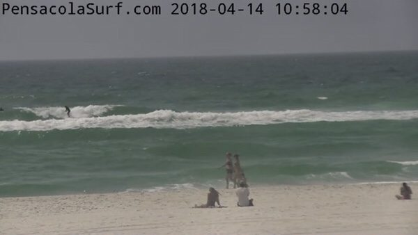 Saturday Mid-Day Beach and Surf Update 4/14/18