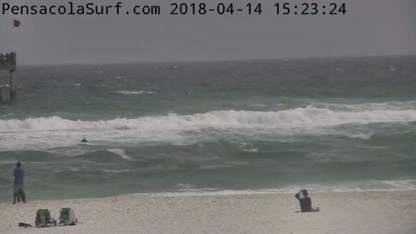 Saturday Afternoon Beach and Surf Report 4/14/18