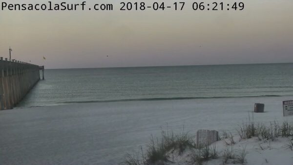 Tuesday Morning Beach and Surf Report 4/17/18
