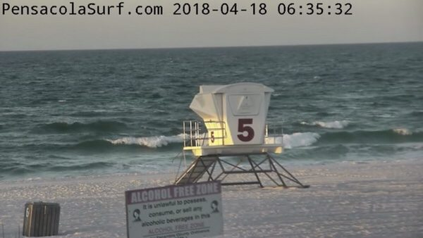 Wednesday Morning Beach and Surf Report 4/18/18